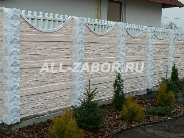 Купить в барнауле забор из бетона бетонная смесь в25 это